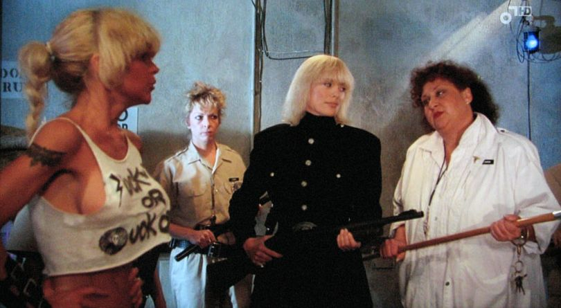 """Now these are the kinds of '80s movies I truly miss; over the top  exploitation films that would go direct to video today. The """"caged women in  heat"""" concept, ..."""