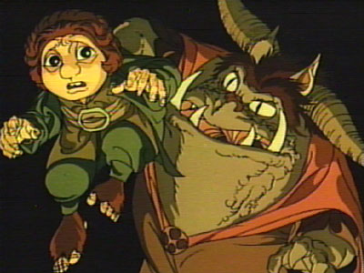 The Lord of the Rings Animated TrilogyGoblin Hobbit