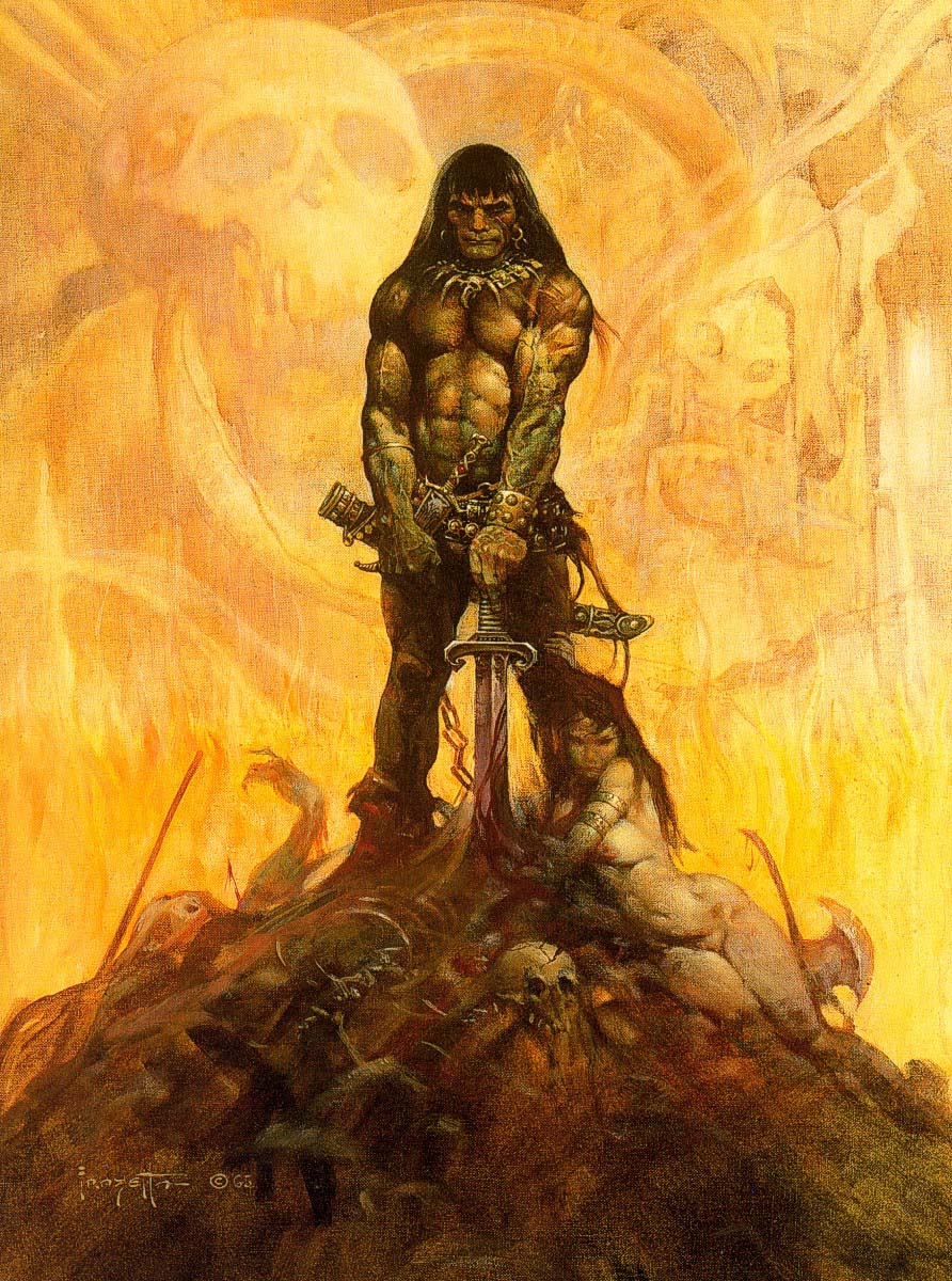 C And C >> Conan, the Cimmerian | Thomas Pluck