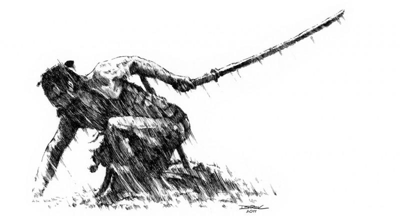 La última defensa de la muralla Kaiu - Página 5 Samurai-rain-800x433