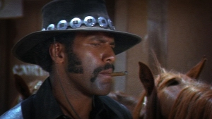 Fred Williamson in Boss, an obvious reference