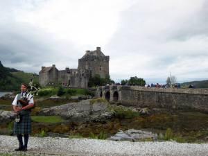 Eilanan Donan castle