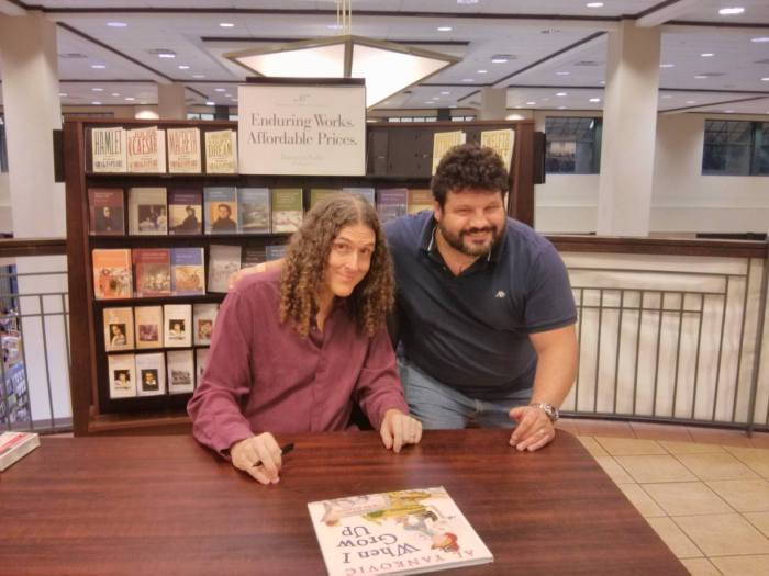 me and weird al