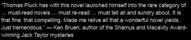 Ken Bruen Bad Boy Blurb
