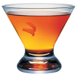 3 oz Whistle Pig Rye whiskey ½ oz simple syrup 1 dash Angostura bitters 2 dashes Peychaud's bitters ½ oz absinthe Coat the glass with absinthe, pour out the excess. Shake first four ingredients in a shaker and strain into glass. Garnish with a lemon twist.