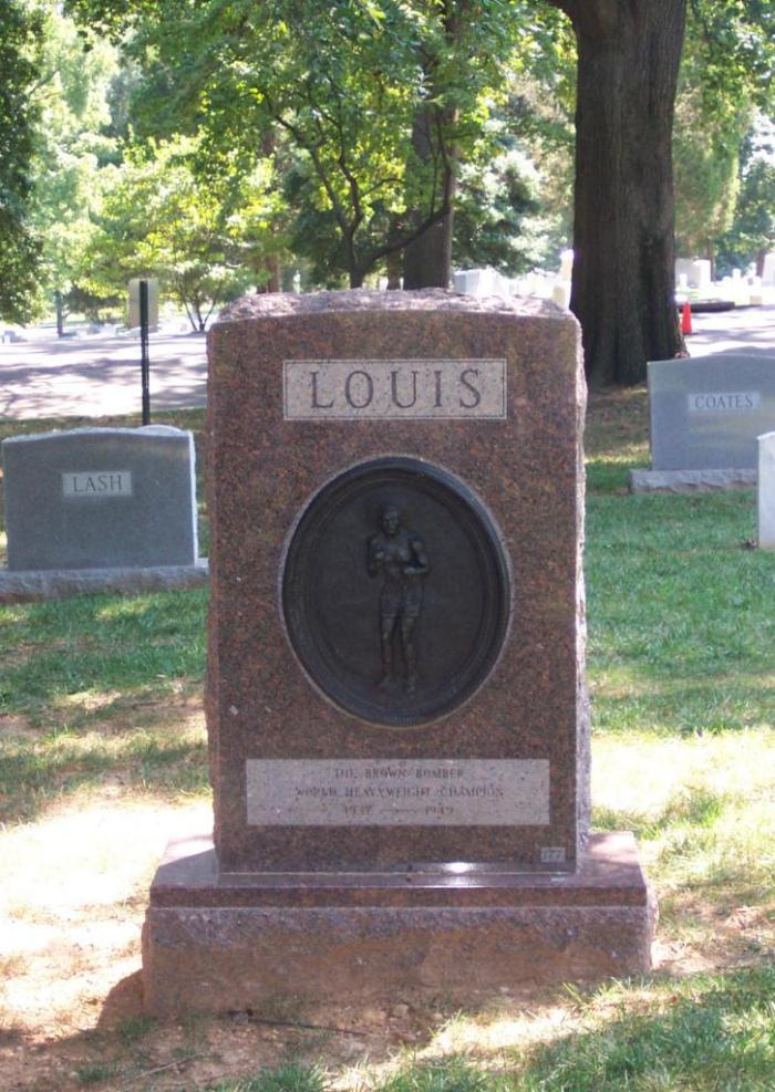 The Grave of Joe Louis