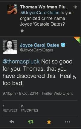 joyce scarole oates