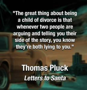 Letters to Santa - Noir Bar Quote