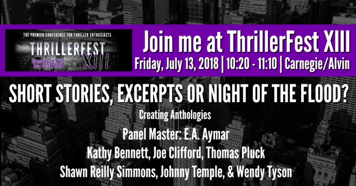 TFest XIII panel graphic SHORT STORIES, EXCERPTS OR NIGHT OF THE FLOOD