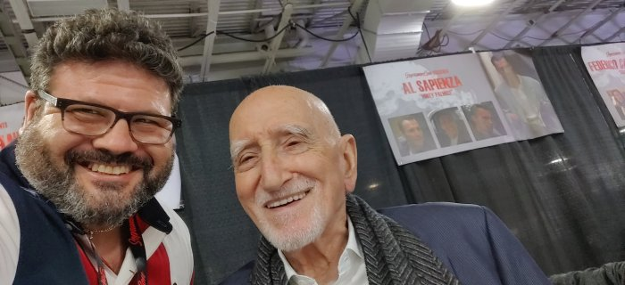 me and Dominic Chianese