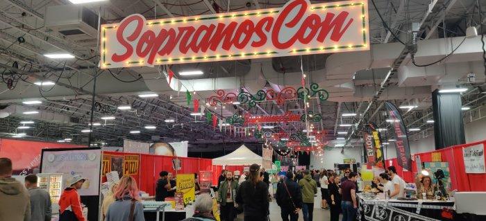 SopranosCon banner